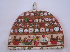 Chicken and Dishes Tea Cozy