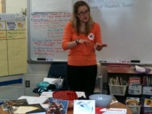 Corrie Presenting 1