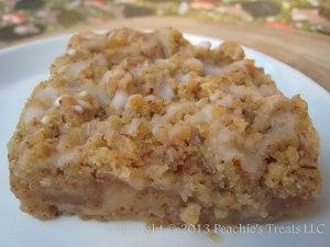 Glazed Apple Crumb Pie Bar 2