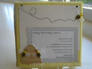 Beehive Dessert Table Sign