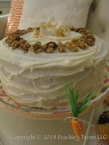 Carrot Cake Cream Cheese Frosting