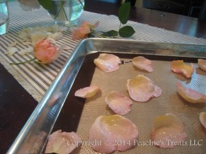 Candied Rose Petals 1