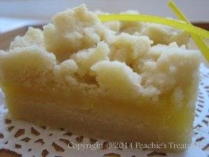 Creamy Lemon Shortbread Bar 2
