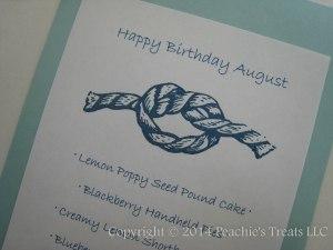 August Birthdays - Nautical Sign