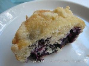 Blueberry Buttermilk Muffin 2