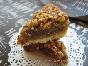 Bourbon Pecan Pie Bars 1
