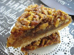 Bourbon Pecan Pie Bars 2