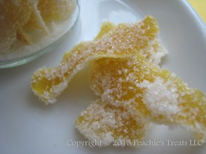 Candied Lemon Peel 2