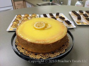 Lemon Bar Cheesecake Display Pic