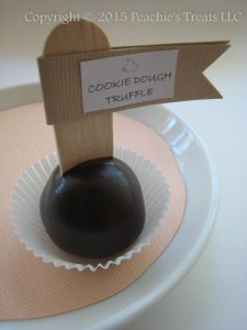 Chocolate Cookie Dough Truffle 1