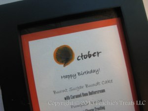 October 2015 Birthday Sign
